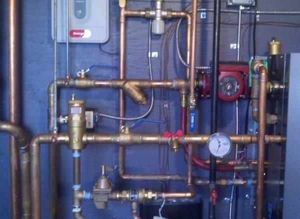 Boiler install natural gas 1