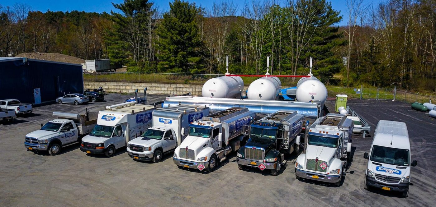 Deerpark Heating Oil Delivery Trucks