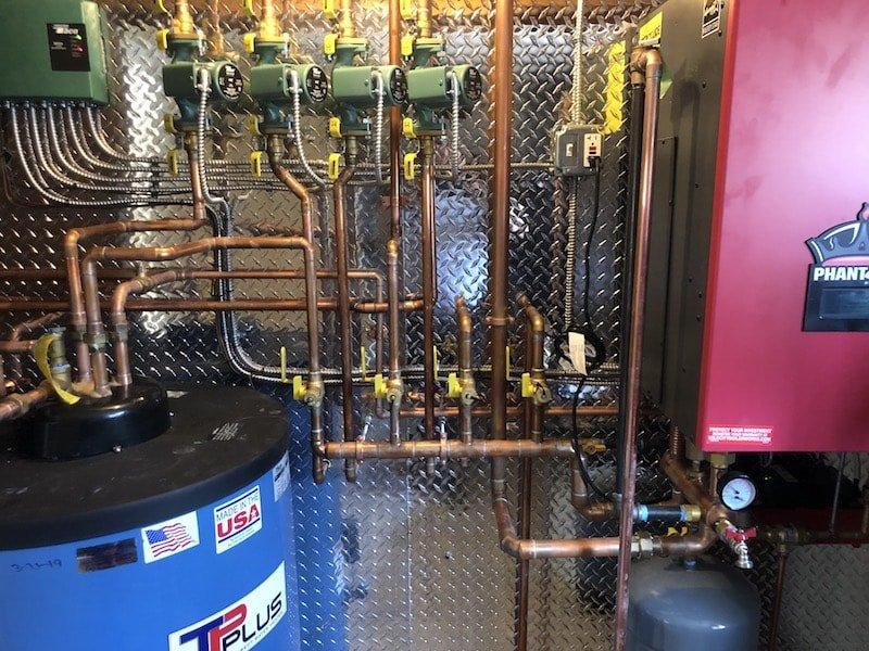 Propane Boiler Install